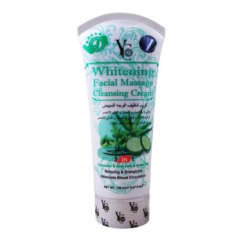 YC Whitening Facial Massage Cleansing Cream, 150ml