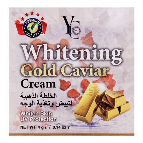 YC Whitening Gold Caviar Whiten Skin UV protection Cream
