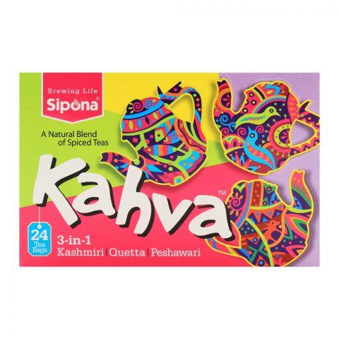 Sipona Kahva 3-in-1 Tea Bags 24-Pack