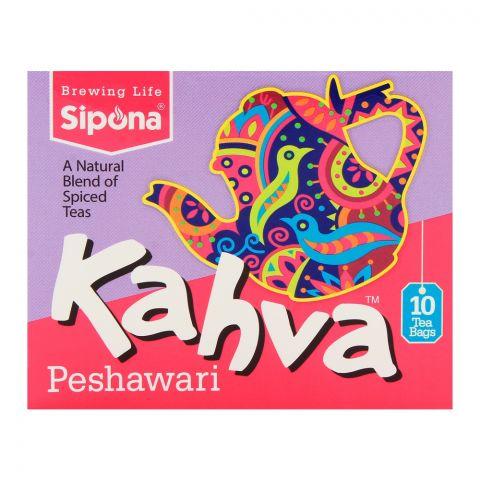 Sipona Kahva Peshawari Tea Bags 10-Pack
