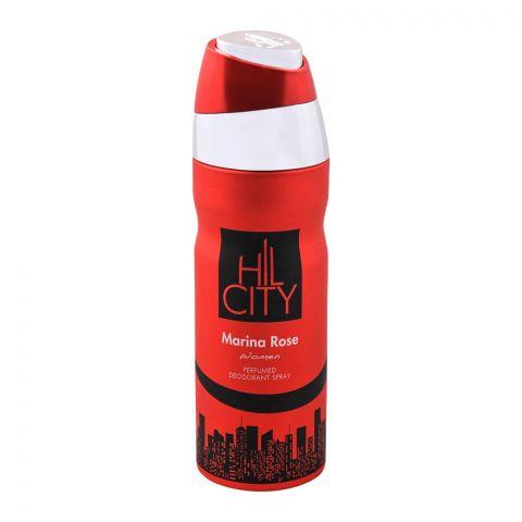Hil City Marina Rose Women Deodorant Body Spray, 200ml