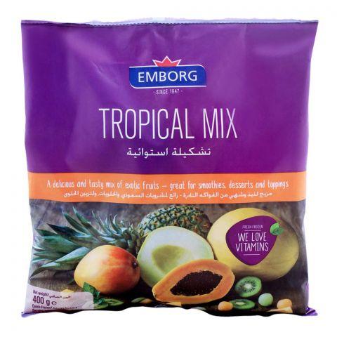 Emborg Frozen Tropical Fruit Mix 400g