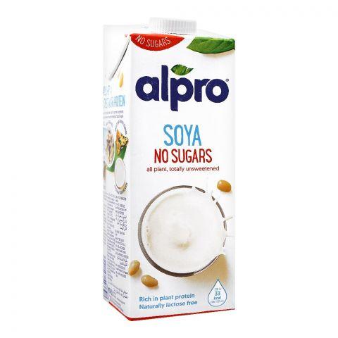 Alpro Soya Drink, No Sugars, 1 Liter