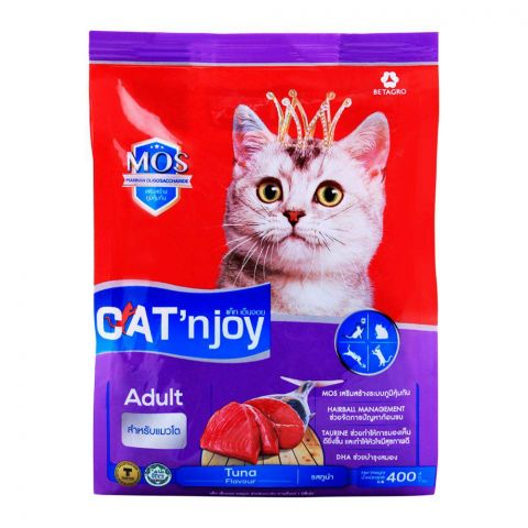 CAT'njoy Adult Tuna Flavor Cat Food 400g