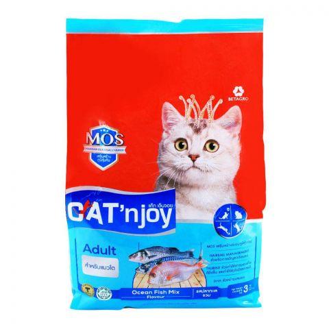 CAT'njoy Adult Ocean Fish Mix Cat Food 3 KG