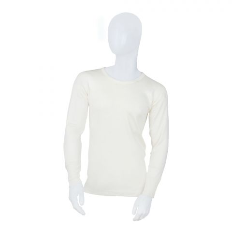 Lily Luxury Pure Woollen Warmer Top, 505, Full Sleeves, Yellow