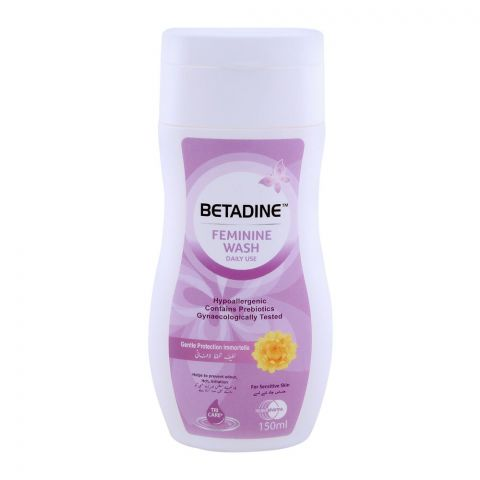 Betadine Feminine Wash Gentle Protection Foam 150ml