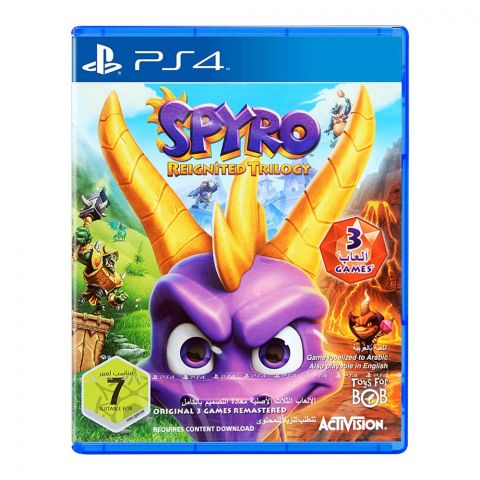Spyro Reignited Trilogy - PlayStation 4 (PS4)