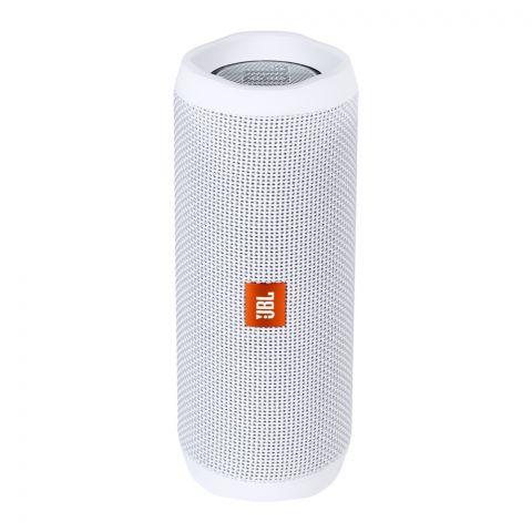 JBL Flip 4 Waterproof Portable Bleutooth Speaker White