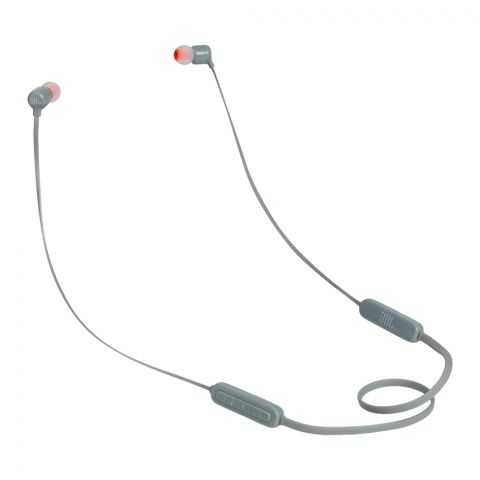 JBL Pure Bass Wireless In-Ear Headphones Grey - T-110BT