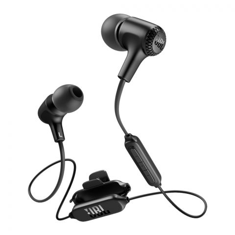 JBL Wireless In-Ear Headphones Black - E-25BT