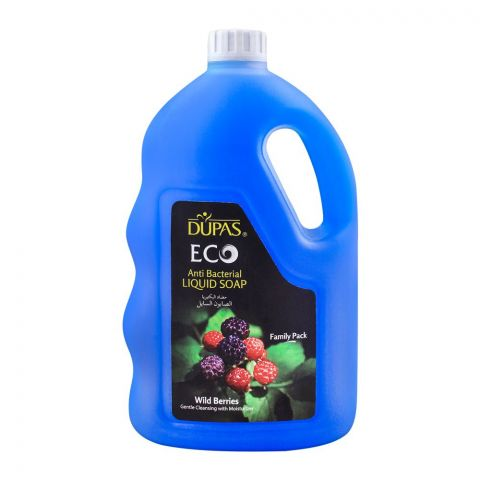 Dupas Eco Liquid Soap Wild Berries Anti Bacterial, 2500ml