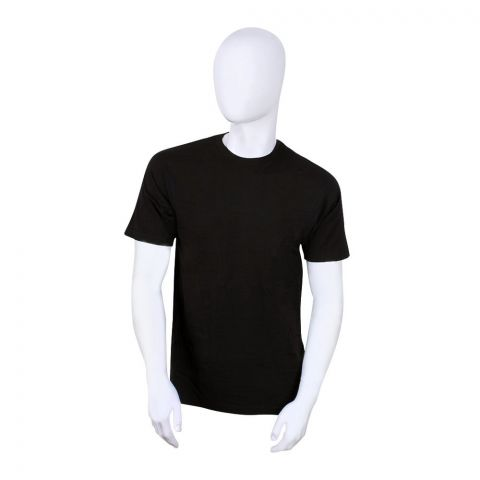 BigBen Crew Neck T-Shirt, Black