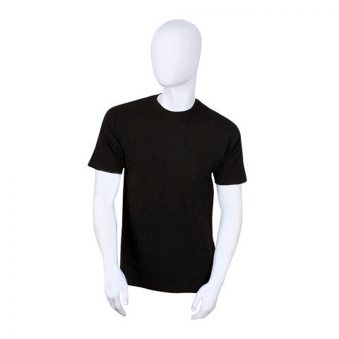 BigBen Crew Neck T-Shirt, Black