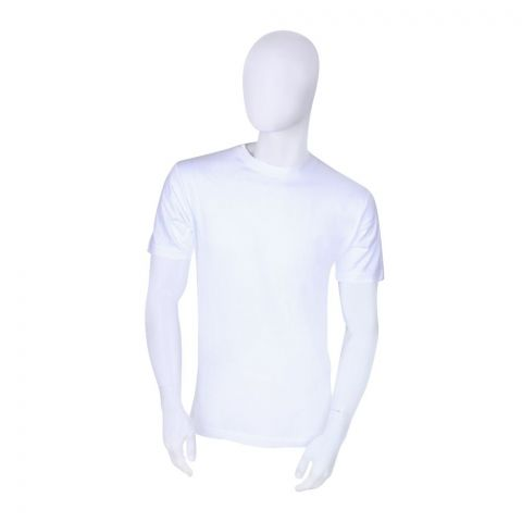 BigBen Crew Neck T-Shirt, White