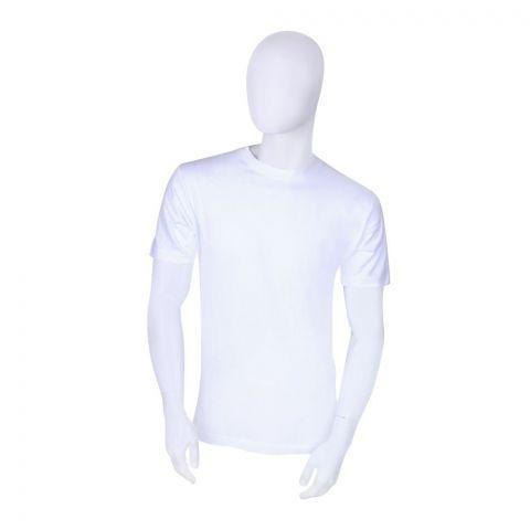 BigBen Crew Neck T-Shirt, White
