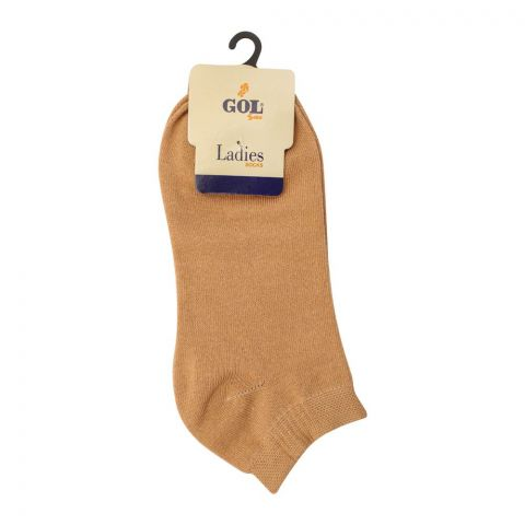 Gol Ladies Cotton Socks, Ankle Skin
