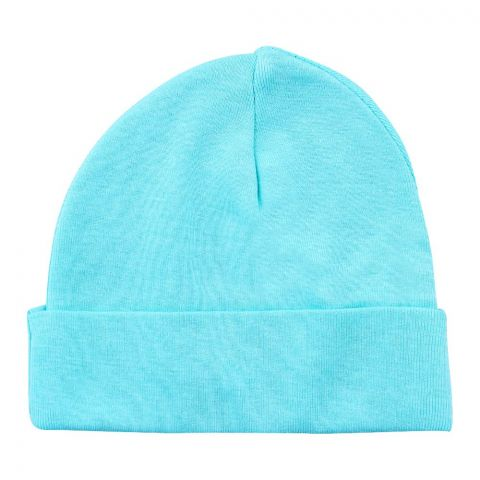 Twin Baby Round Cap, Sea Green
