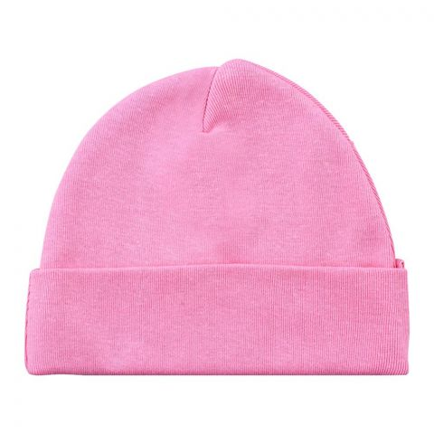 Twin Baby Round Cap, Light Pink