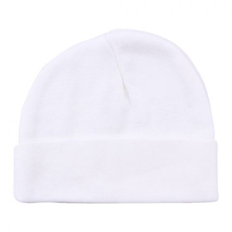 Twin Baby Round Cap, Off White
