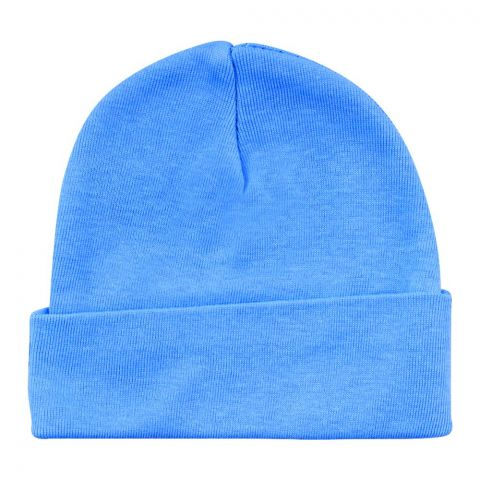 Twin Baby Round Cap, Sky Blue
