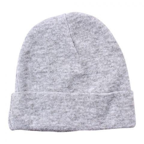 Twin Baby Round Cap, Haider Grey