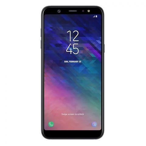 Samsung Galaxy A6 Plus Black Smartphone - A605F/DS