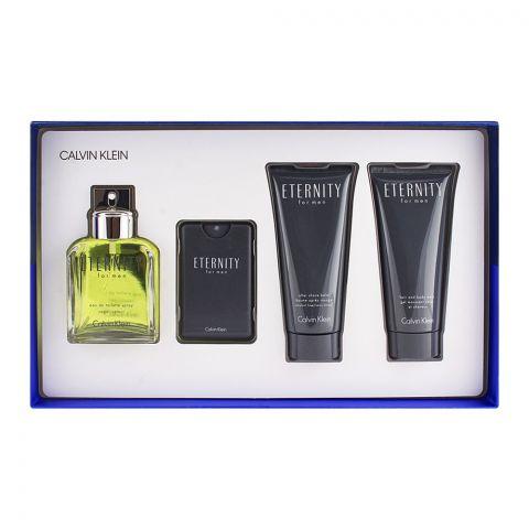 Calvin Klein Eternity For Men EDT 100ml + 20ml + Deodrant Stick + After Shave Set