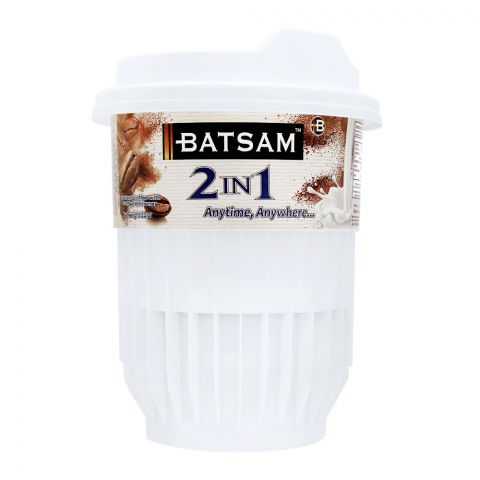 Batsam 2-in-1 Instant Coffee With Coffee Whitener, 25g