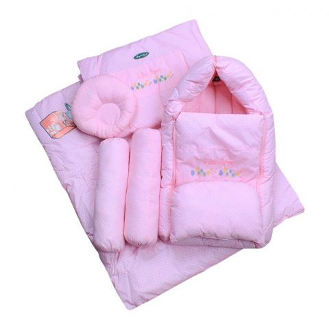 Angel's Kiss Baby Quilt Set VIP, Pink