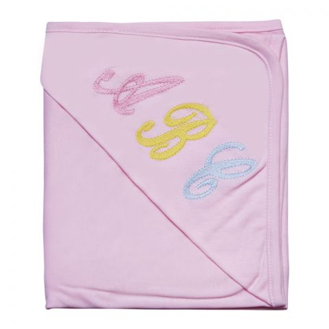 Angel's Kiss Interlock Baby Wrapping Sheets, Pink