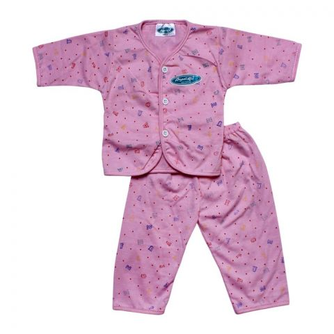 Angel's Kiss Baby Suit, Small, Pink