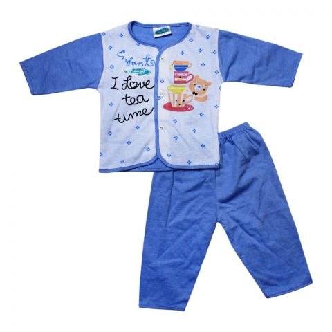 Angel's Kiss Baby Suit, Large, Blue