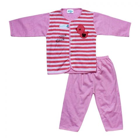 Angel's Kiss Baby Suit, XL, Pink