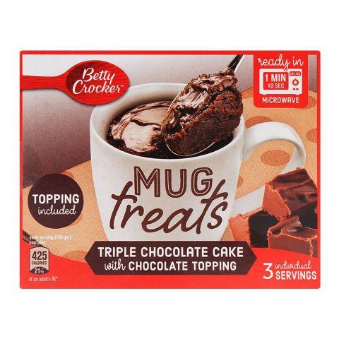 Betty Crocker Mug Treats Triple Chocolate Cake 255gm