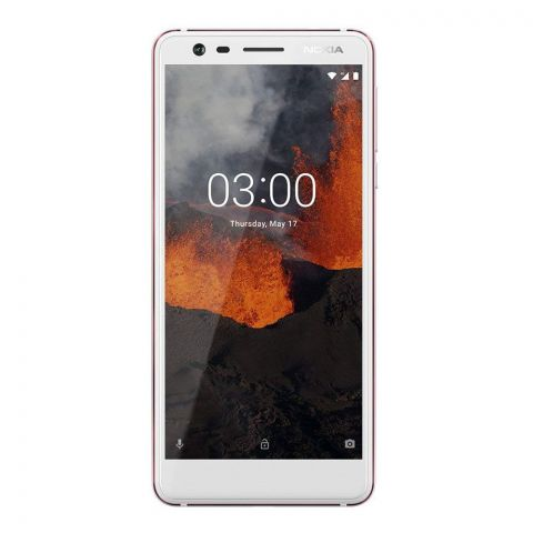 Nokia 3.1 Dual SIM 2GB 16GB White Smartphone - TA-1063