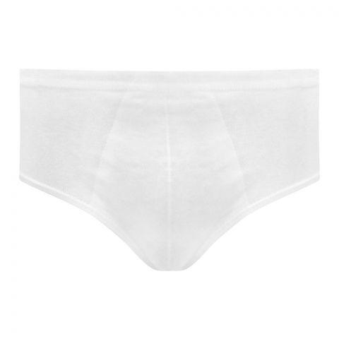 Rider Junior Brief Kids Underwear, 3-Pack, White