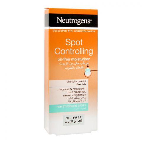 Neutrogena Spot Controlling Oli-Free Moisturiser, 50ml