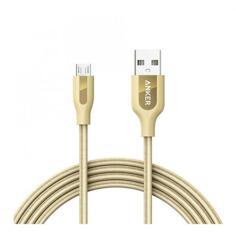 Anker PowerLine Micro USB Android Cable 6ft Pouch A8143HB1