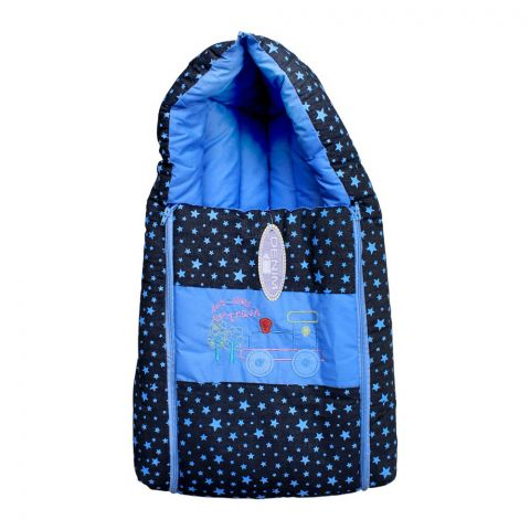 Angel's Kiss Baby Carry Bag, Denim Blue