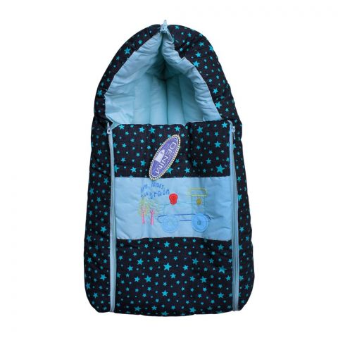 Angel's Kiss Baby Carry Bag, Denim Green