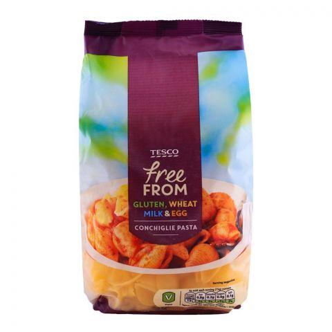 Tesco Free From Gluten, Wheat, Milk & Egg Conchiglie Pasta 500g