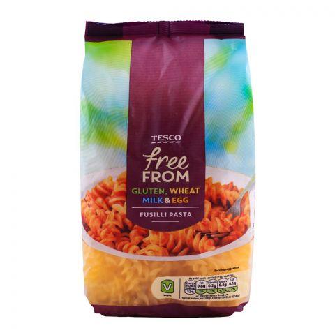 Tesco Free From Gluten, Wheat, Milk & Egg Fusilli Pasta 500g