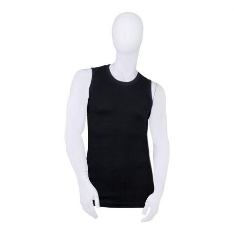 Mercury Gym Cut-In T-Shirt, Black