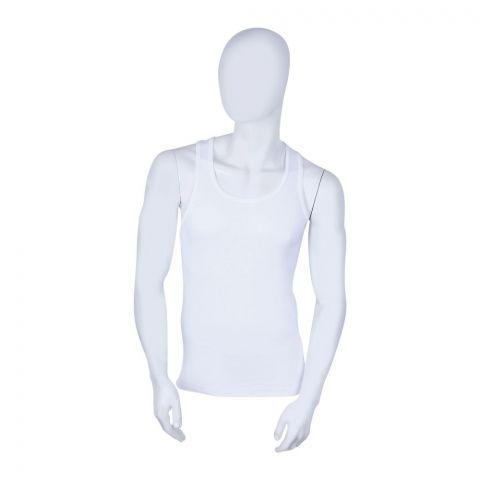 Noorani Summer King Sando Men's Vest, White