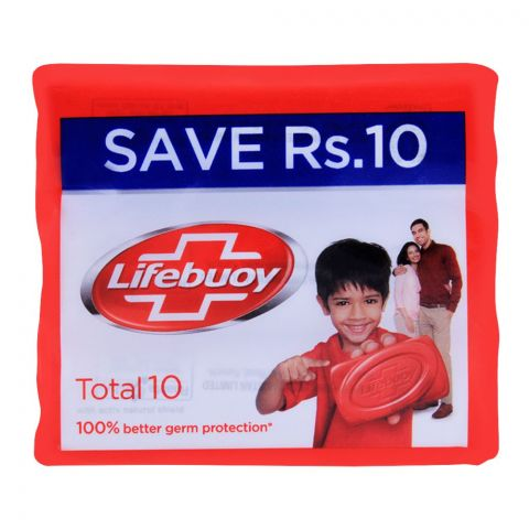 Lifebuoy Total 10 With Activ Silver Soap, Value Pack, 3x112g