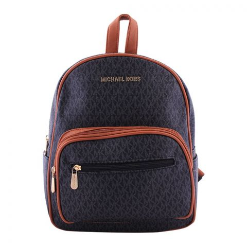 Michael Kors Style Women Backpack Black - QS1151