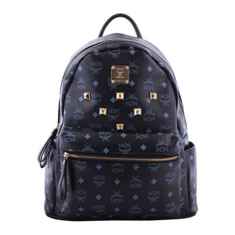 MCM Style Women Backpack Black - M41078