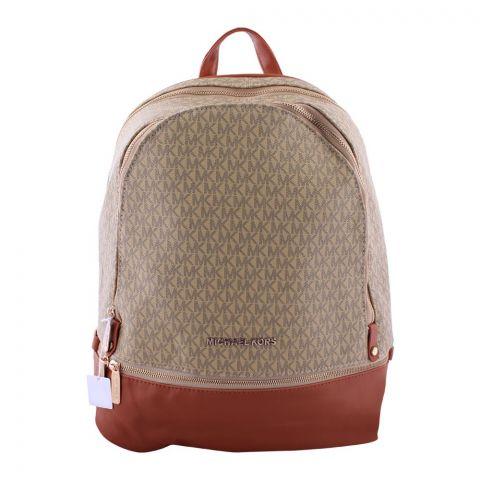 Michael Kors Style Women Backpack Beige - 133