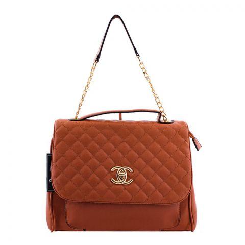 Chanel Style Women Handbag Brown - 55814